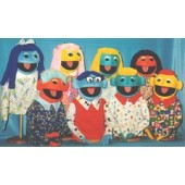 Colorful Popular Regular People Puppets