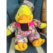 duck stuffed puppet