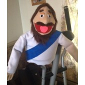Jason's Jesus Puppet