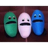 Jellybean puppet set of 3