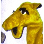 Large Camel Puppet Gold