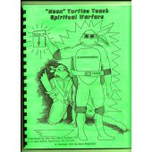 Neon Turtles teach armor of God coloring book