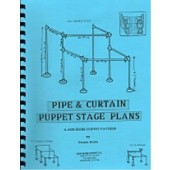PVC  Pipe & Curtain Puppet Stage Plans