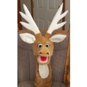 Reindeer Puppet Plain