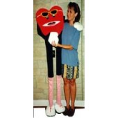 Walking Heart Ventriloquist Puppet