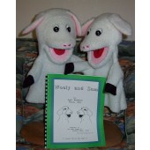 Wooly & Sam Lamb Puppet Set w/Book