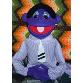 Deluxe Extra Large Purple Dad Puppet