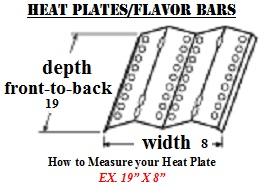 Heat Plates & Flavor Bars