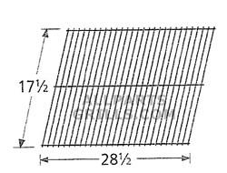 """17-1/2"""" X 28-1/2"""" Steel Wire Rock Grate"""