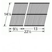 "14-1/4"" X 22-1/2"" (2pc) Porc Steel Wire Cook Grid"