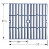 "19-1/16"" X 20"" Matte Cast Iron Cooking Grid"