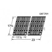 "17-3/4"" X 23""  (2pc) Cast Iron Cook Grid"