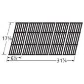 "17-3/8"" X 31-7/8' Gloss Cast Iron Cook Grid"