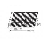 """18"""" X 28-3/4"""" (2pc.) Cast Iron Cook Grid Set"""