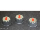 Weber Spirit Set Of 3 Control Knobs