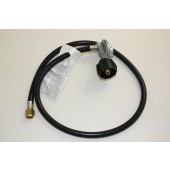 "42"" LP Hose and Regulator with 90 degree"