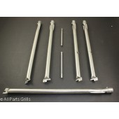 "20-1/2"" X 6-1/8"" (7pc) OEM Stainless Steel Burner Kit with Smoker Burner"