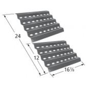 """16-3/8"""" X 24"""" Porcelain Steel Heat Plate set"""