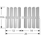 "15-3/4"" x 24"" Stainless Steel Flavorizer Bars"