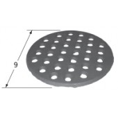 """9"""" Diameter Cast Iron Briquette Grate 99901"""