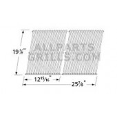 19-1/8X 25-7/8 2 piece stainless cooking grid