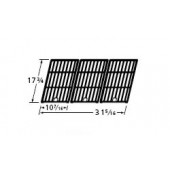 "17-3/4"" X 31-5/16"" Matte Cast Iron Cooking Grid"