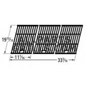 19-13/16 X 33-3/16 porc. 3 pc C.I. cooking grid.