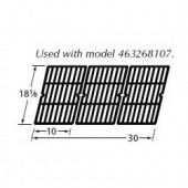 "18-1/8"" x 30"" Porc. C.I Cooking Grid (3pc) 65993"