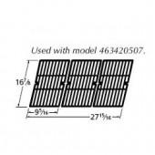 """16-7/8"""" x 27-15/16"""" Porc. C.I. Cook Grid (3pc)"""