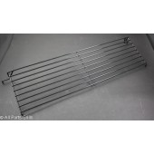 "7-5/8"" X 25-3/16"" Black Porcelain Wire Warming Rack"