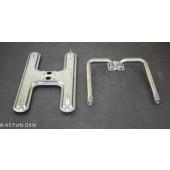 """15-7/8"""" X 8"""" Stainless Steel """"H"""" Burner Kit"""