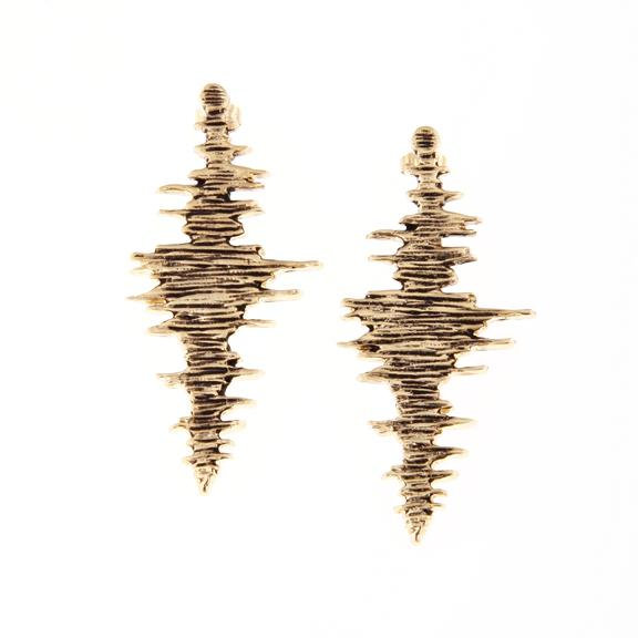 Seismic Wave Earrings