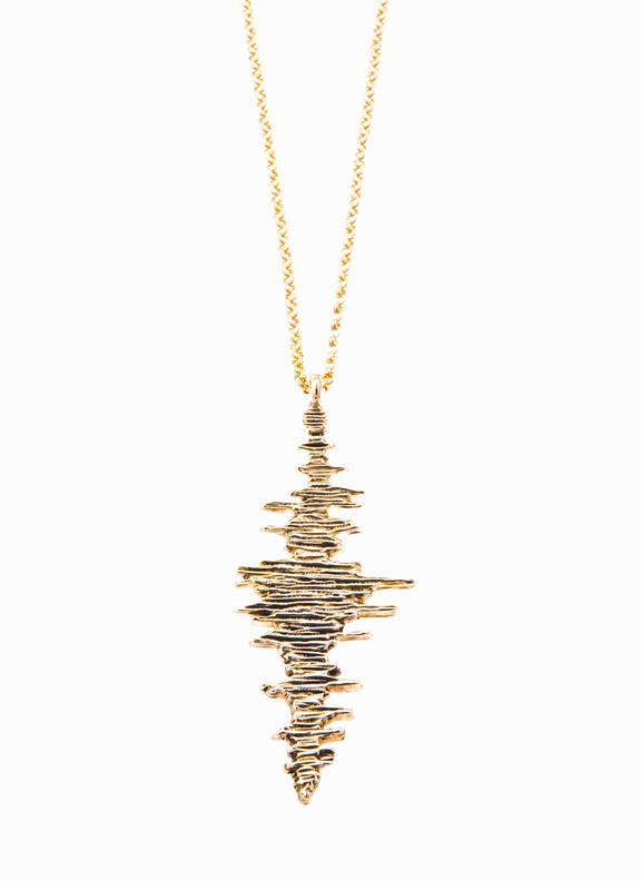 Seismic Wave Pendant