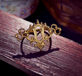Entry Lock Double Finger Ring