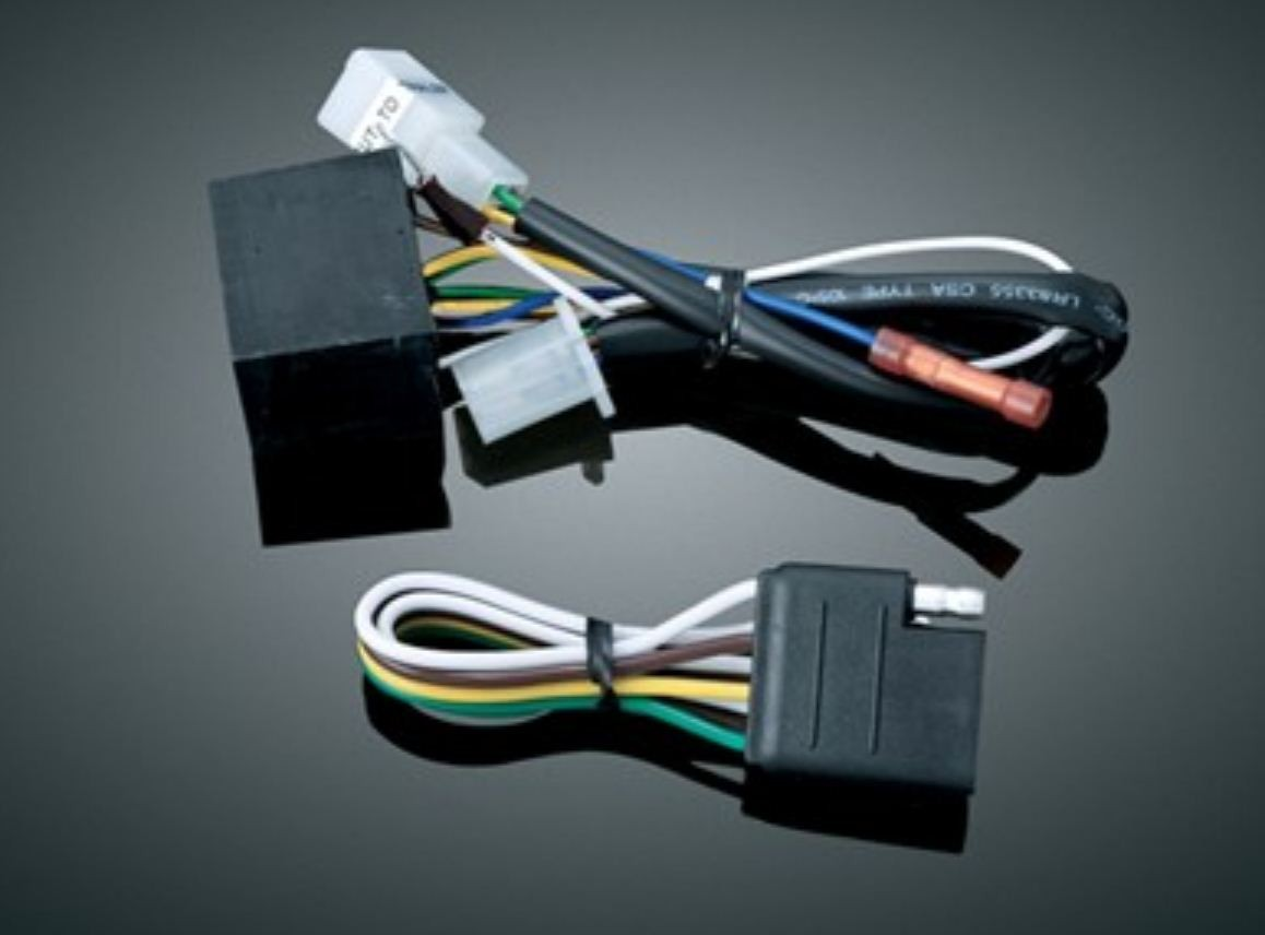 Kuryakyn Trailer Wiring Harnesses Quick Wire Harness 5 To 4 Converter Be Used With Kryakyn Relay